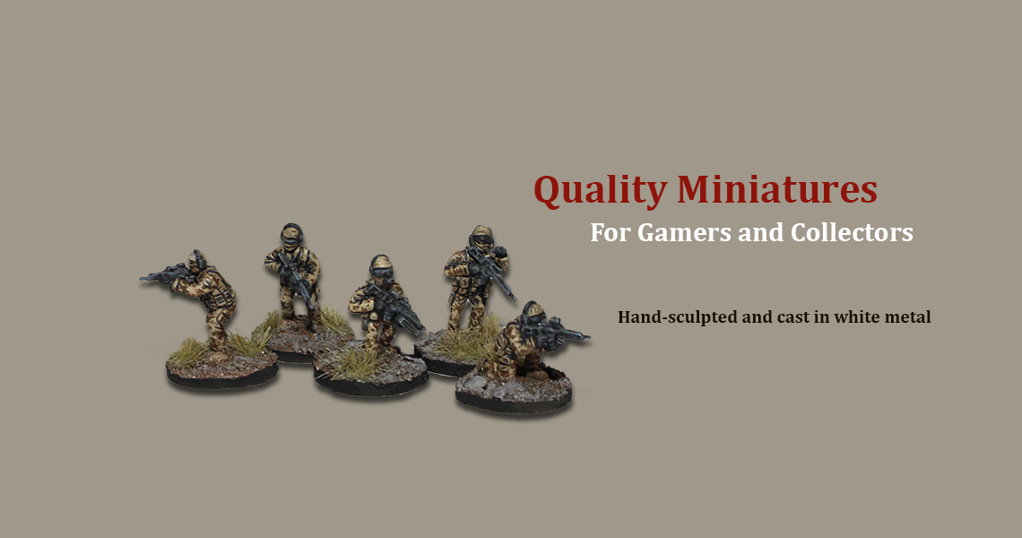 Quality Miniatures for Gamers and Collectors